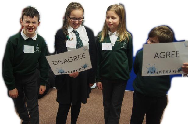 Active Children Agree Disagree