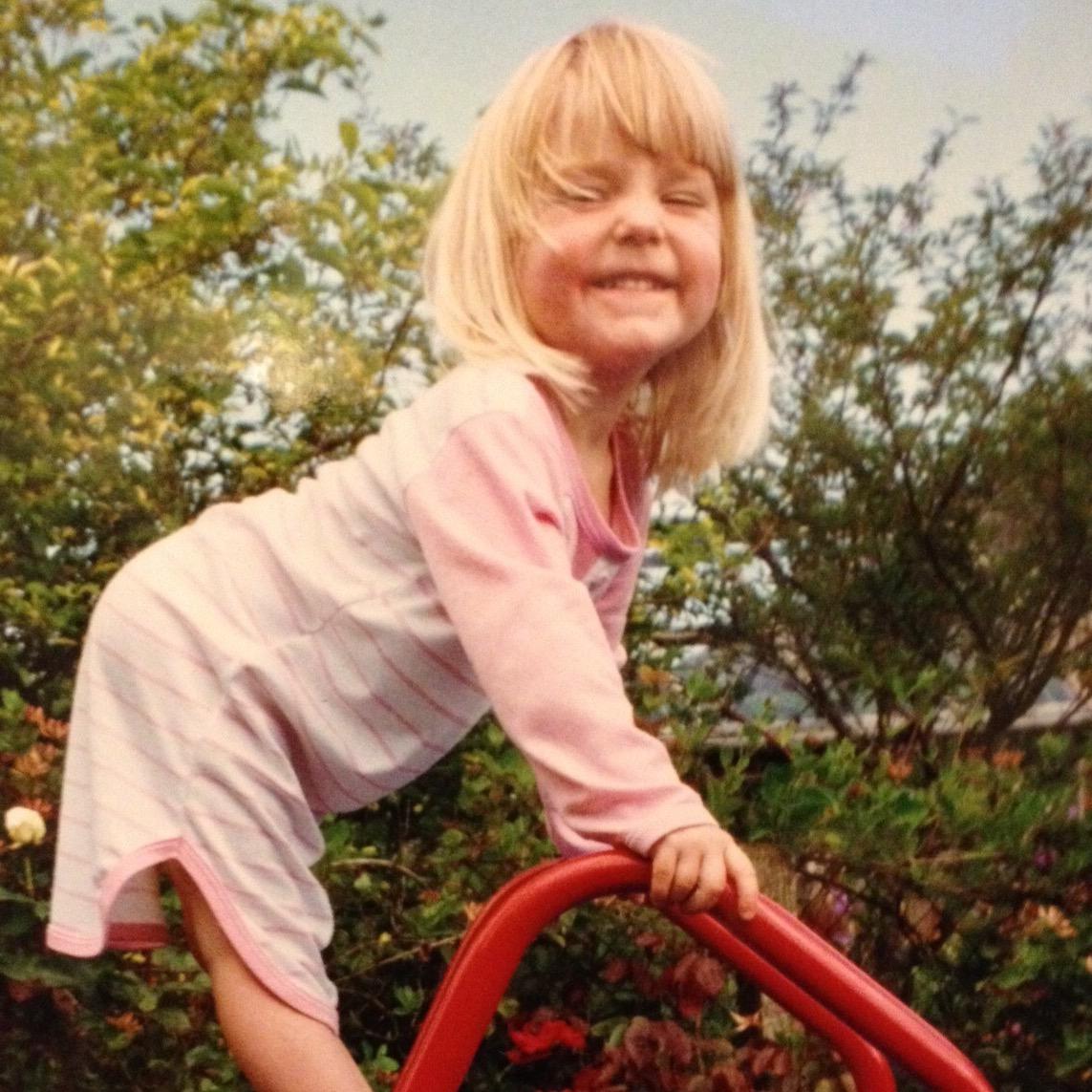 Anna - childhood photo