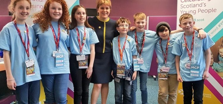 Children's Parliament meets the Scottish Cabinet 2018