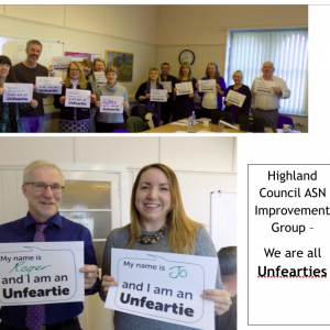 Highland Council, ASN Improvement Group
