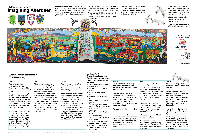 Imagining Aberdeen Mural Report