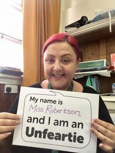 Lucy Robertson, Broomhill School