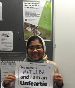 Matluba Khan, University of Edinburgh