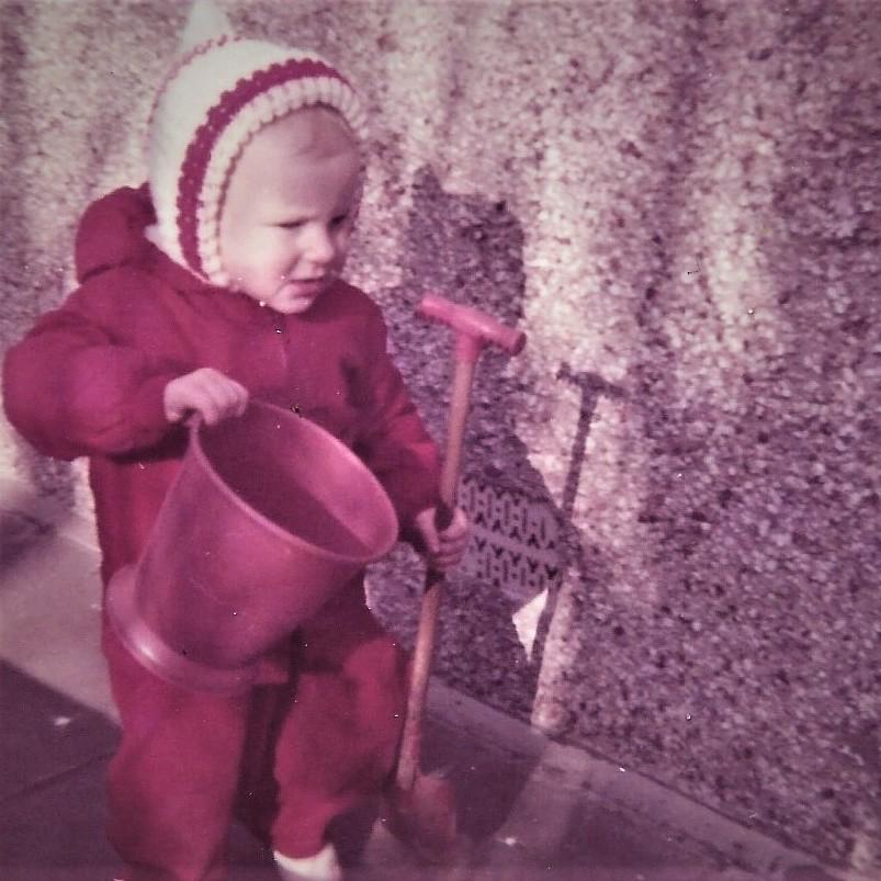 Nichola Combe toddler pic