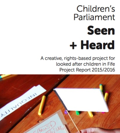Seen and Heard Report Cover