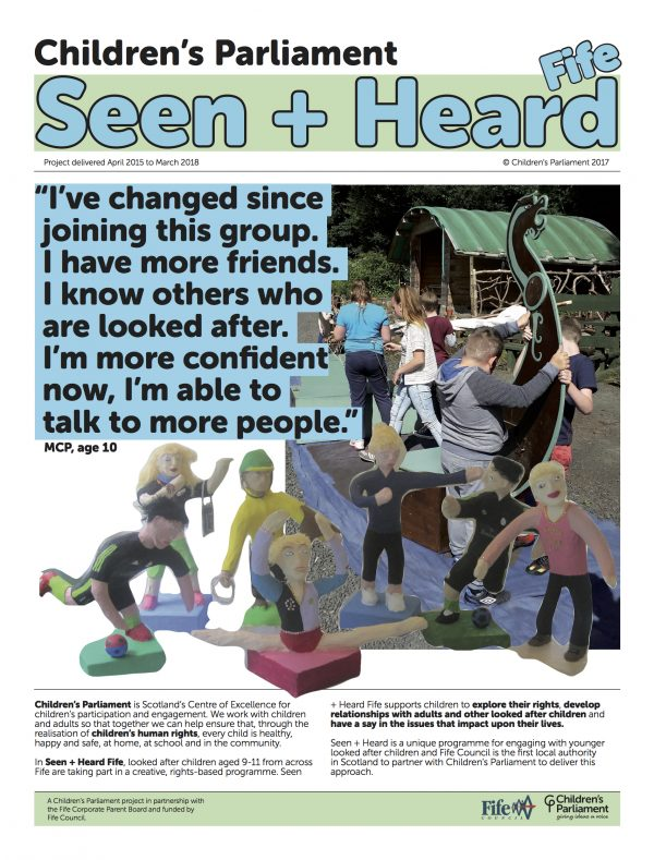Seen+Heard Newspaper (FrontPage)