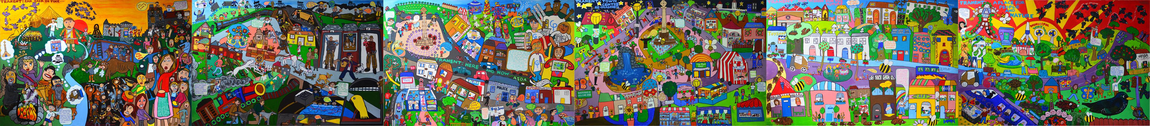 StreetsAhead Tranent Mural (2016)
